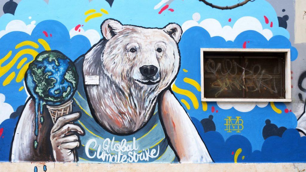 Cinque Murales Eco Sostenibili Piu Uno Mostrami Factory