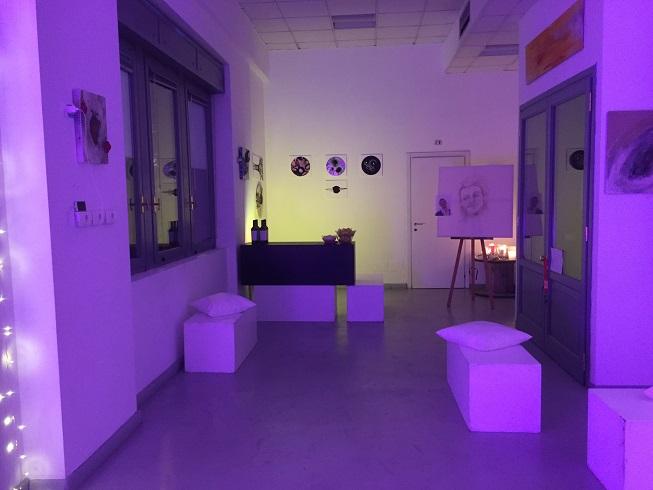 zona galleria allestita serale6